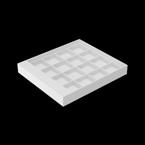 01016  Планшет для изделий (4*4)16